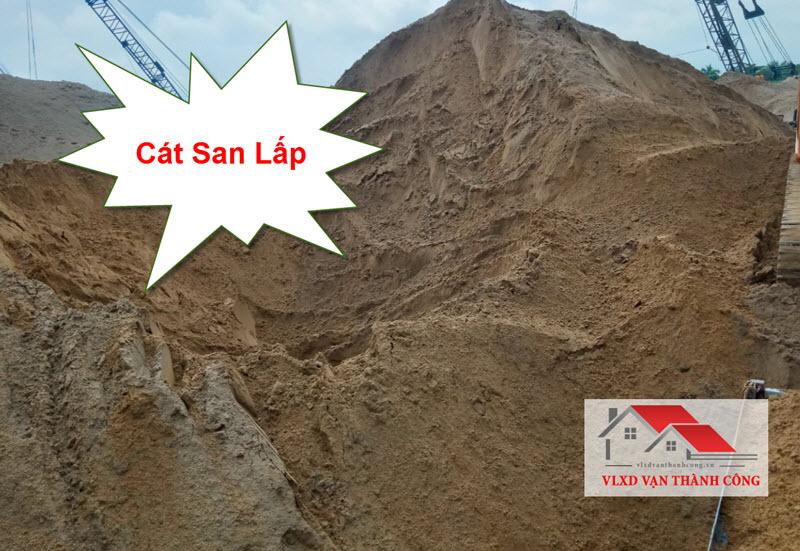 Cát san lấp nền, mặt bằng được VLXD Vạn Thành Công cung cấp với giá rẻ nhất tphcm