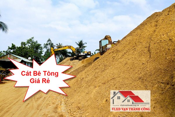 Giá cát bê tông rẻ nhất tphcm
