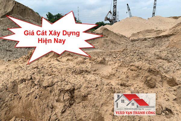giá cát xây dựng mới nhất