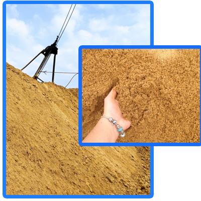 Sản phẩm cát xây dựng