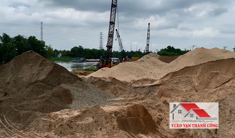 báo giá cát xây dựng hiện nay