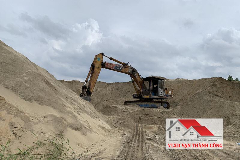 Công ty bán cát đen xây dựng uy tín tphcm