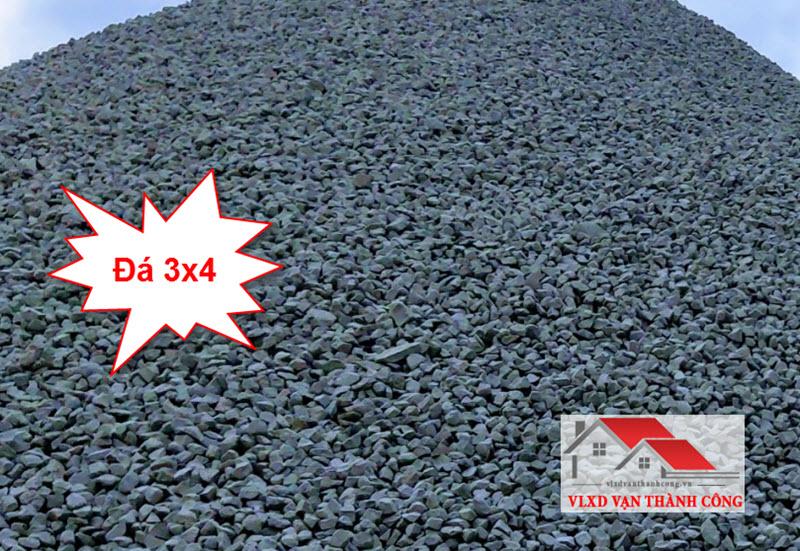 Đá 3x4 là loại đá dăm bền, cứng, chịu lực tốt và được sử dụng khá phổ biến hiện nay