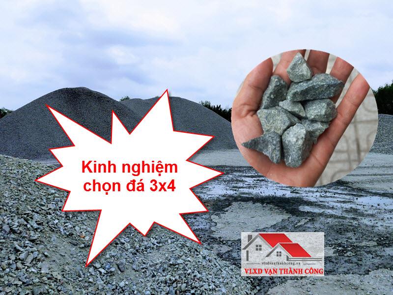 Kinh nghiệm chọn mua đá dăm 3x4 chất lượng, giá tốt