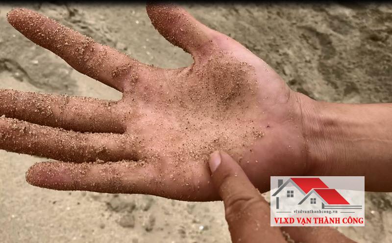 Phân biệt cát đen nhiễm mặn
