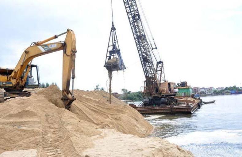 Tình trạng cát tự nhiên thiếu hút nguồn cung nghiêm trọng