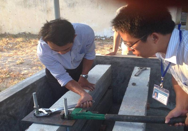 Sản xuất bê tông từ cát biển đã xử lý