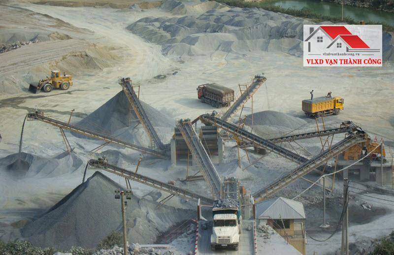 Công đoạn sàng lọc, sản xuất đá base